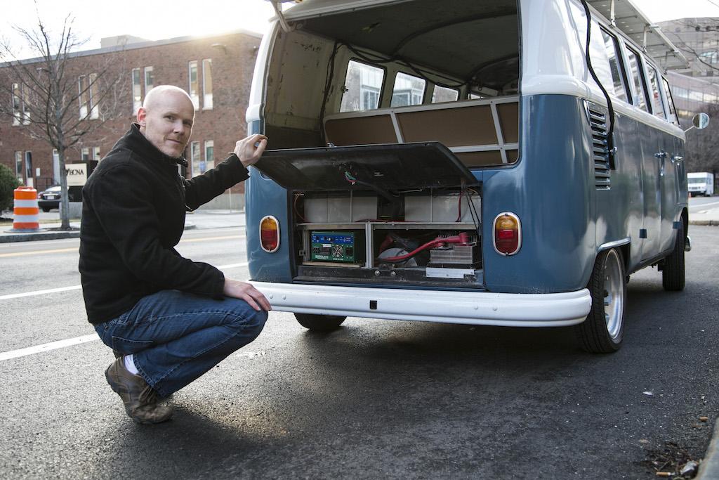 Solar Village - 1966 VW Bus Goes Solar Electric
